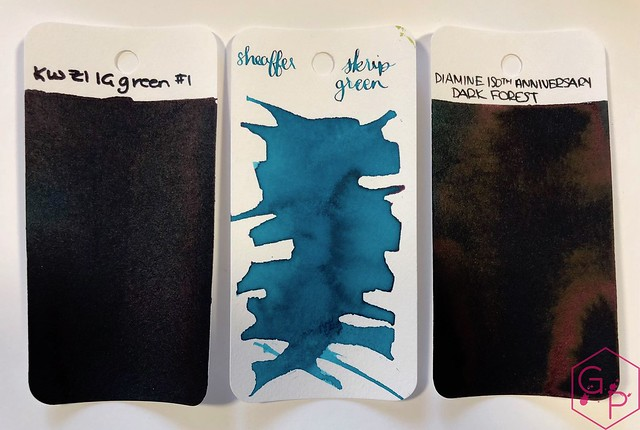 Ink Shot Review KWZ Ink IG Green #1 @BureauDirect 1