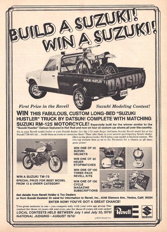 Revell Suzuki 1976