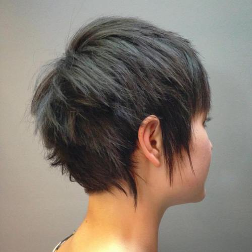 +20 Best Cute Looks with Short Hairstyles for Round Face 3