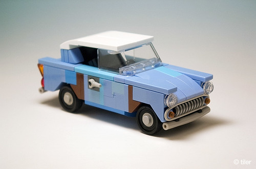 Harry Potter flying Ford Anglia 105E (junk version) _06