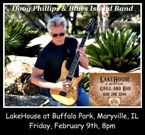 Doug Phillips & Blues Island Band 2-9-18