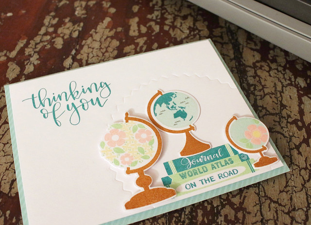 Thinking Of You Globes Card 3