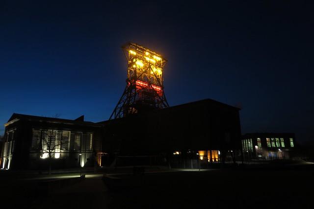 Doppelbock #Consol #night #coalmine #industriekultur #lglow #nacht #förderturm #zeche #consolidation #masteruser1999 #märz #2018