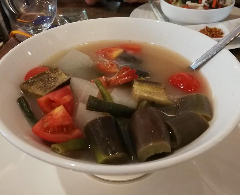 Sinigang Soup with Shrimps_Суп с креветками