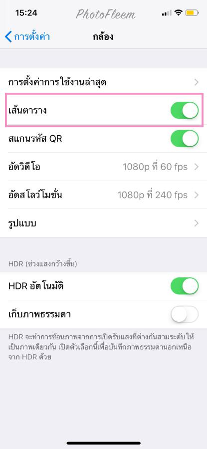 iPhone Camera Positioning