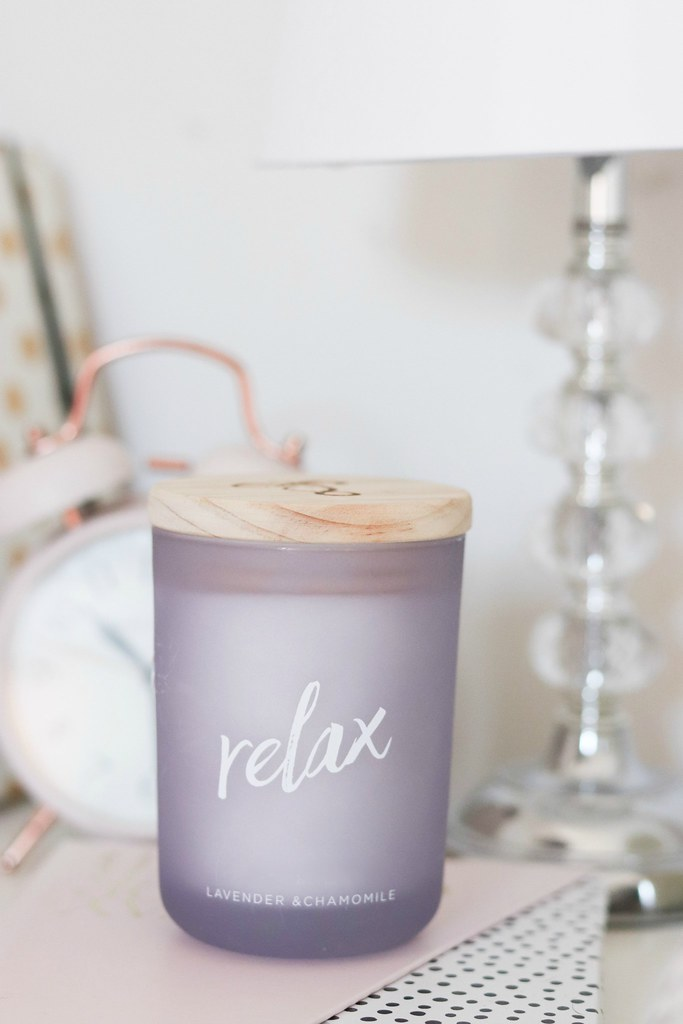 relax candle tk maxx