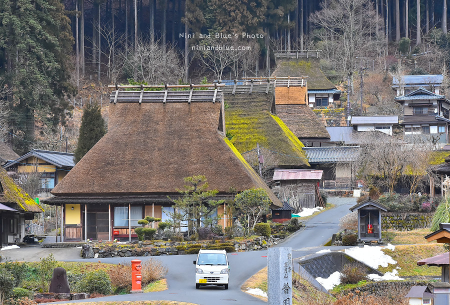 日本京都 美山 茅草屋 交通 巴士31