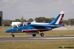 E165 3 F-TERE - E165 - Patrouille de France - French Air Force - Dassault-Dornier Alpha Jet E - RIAT 2010 Fairford - Steven Gray - IMG_9779
