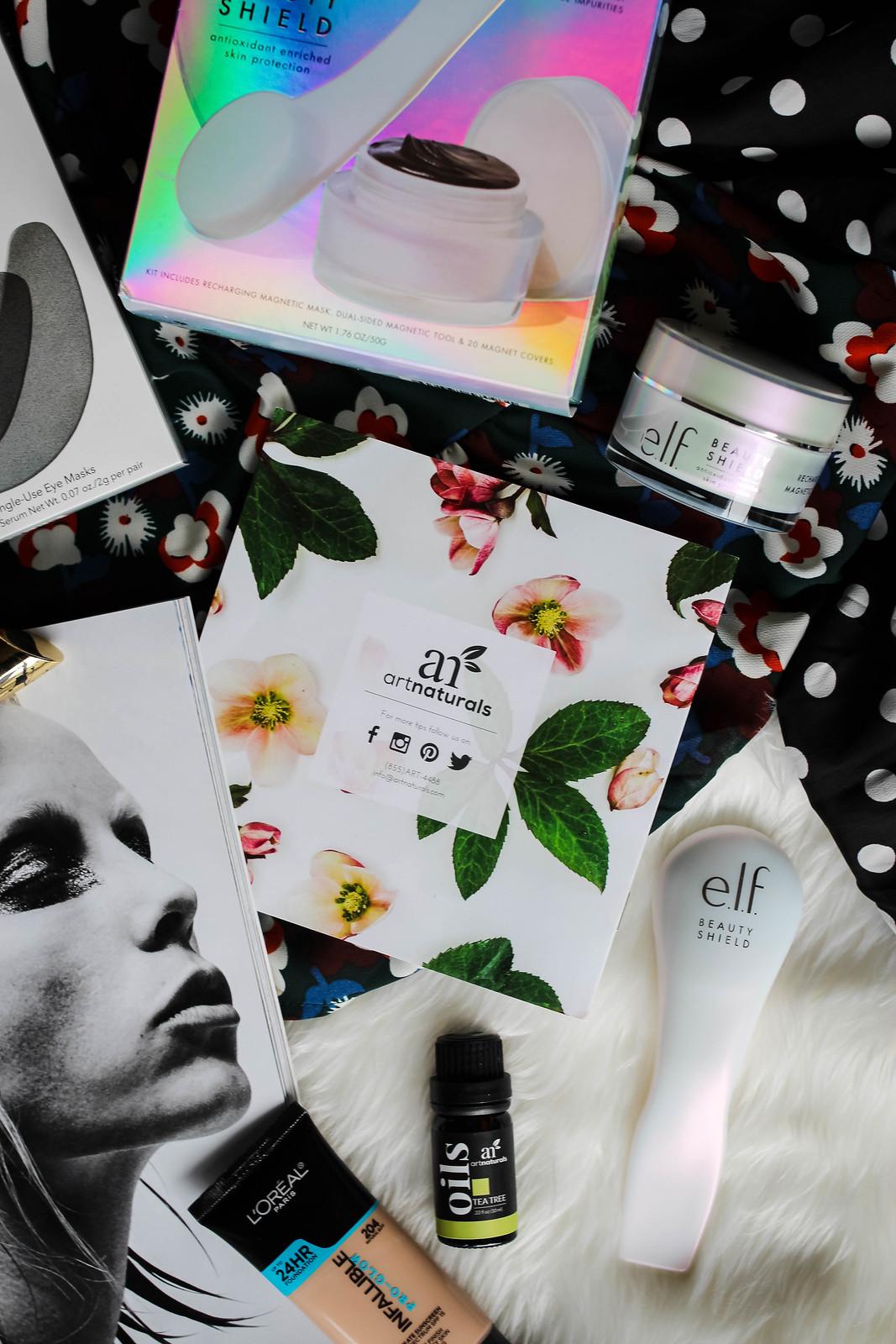 ArtNaturals Essential Oils Tea Tree elf Cosmetics Beauty Shield