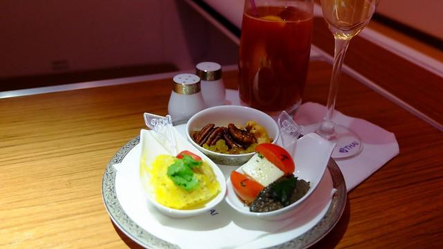 First Class In-flight Meal - Thai Airways
