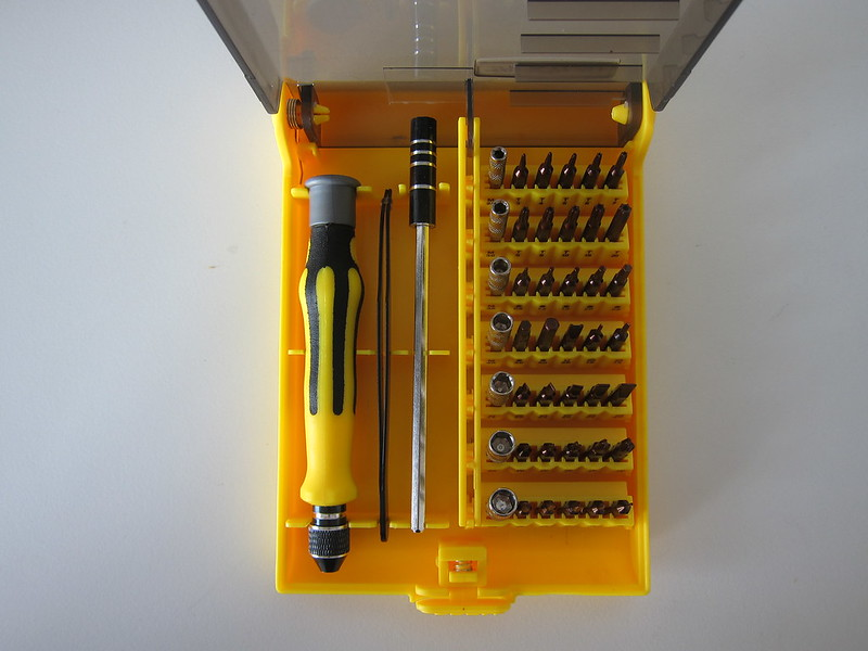 Jackyled 45-in-1 Precision Screwdriver Toolkit - Box Open