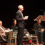 Alan Taylor hosts the event | © Alan McCredie
