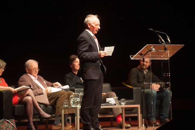Alan Taylor hosts the event