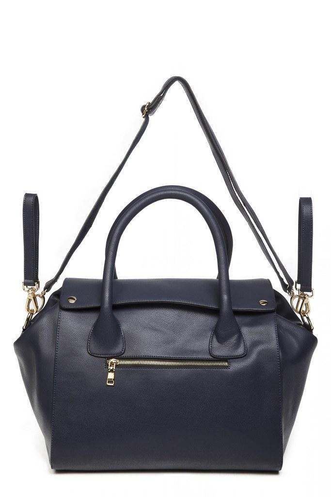 Designer Nappy Bags - Leda Navy - Sage & Luna