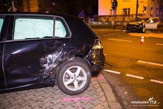 Verkehrsunfall Frankfurter Straße 10.02.18
