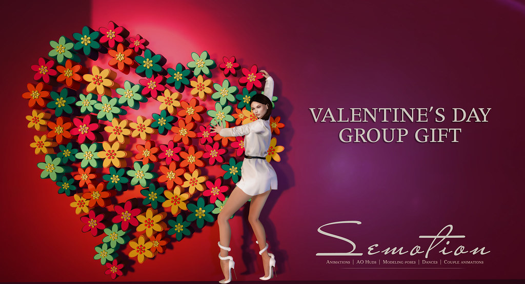 SEmotion Valentine's Day Group Gift - TeleportHub.com Live!
