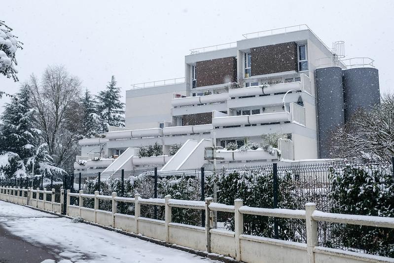 Evry - Quartier du Bras de fer - Ensemble Andrault et Parat