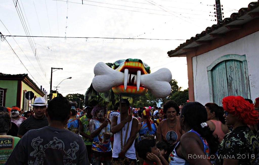 Carnaval Óbidos 2018. Foto: Rômulo Viana