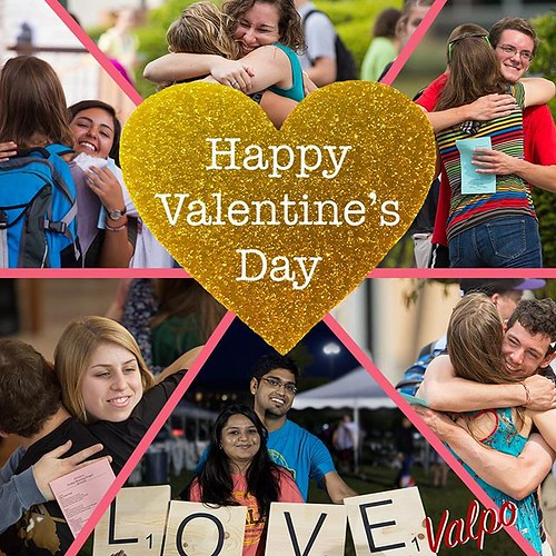 Happy Valentine's Day to the campus that spreads the love every day! #GoValpo