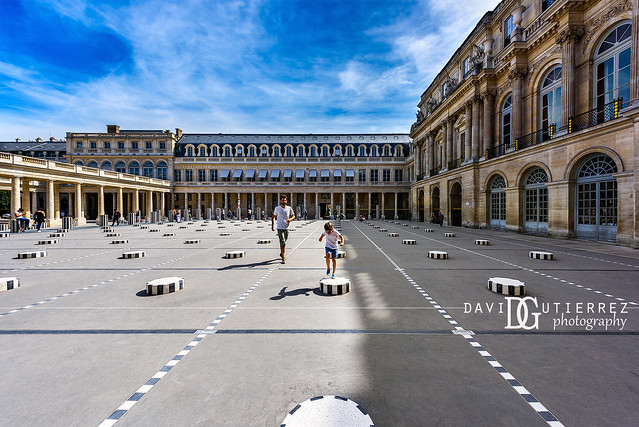 Leap And Hop - Palais-Royal, Paris, France