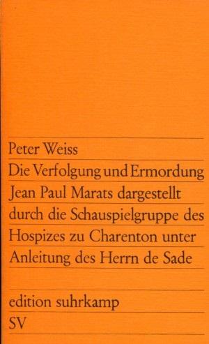 Weiss Marat Charenton Sade