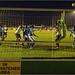 Behind the goal, Wealdstone v Hereford.
