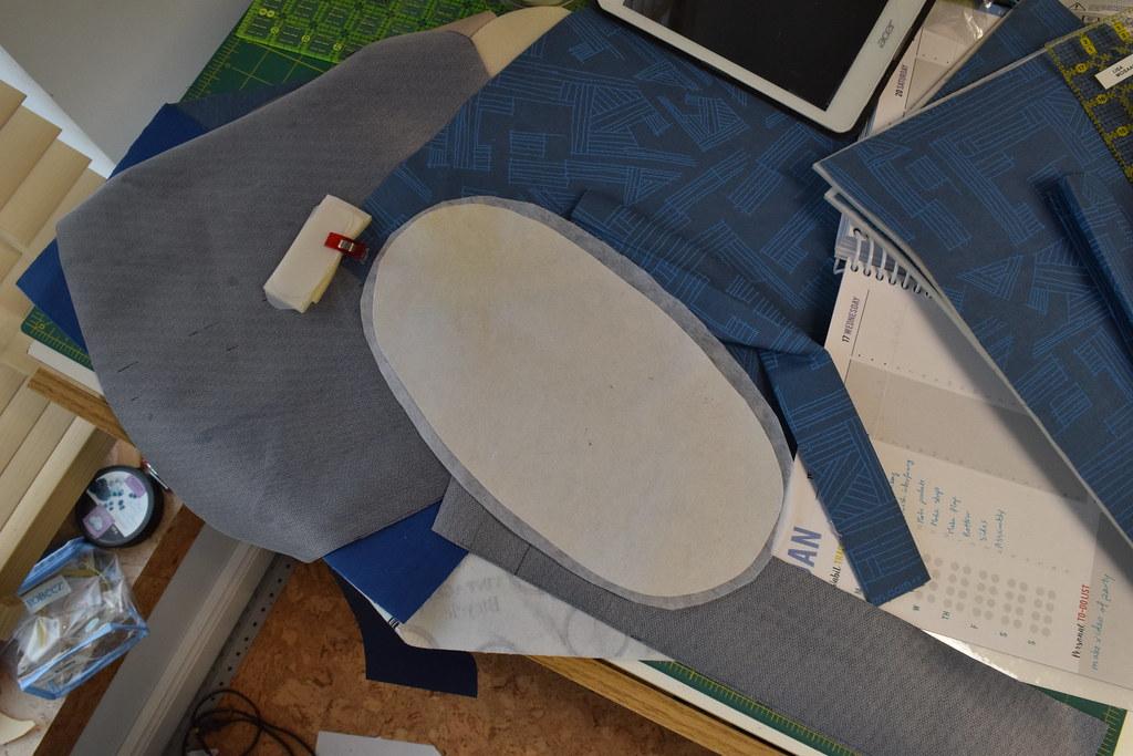 Podium bag parts in progress