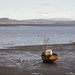 Fishing boat in Morecambe Bay