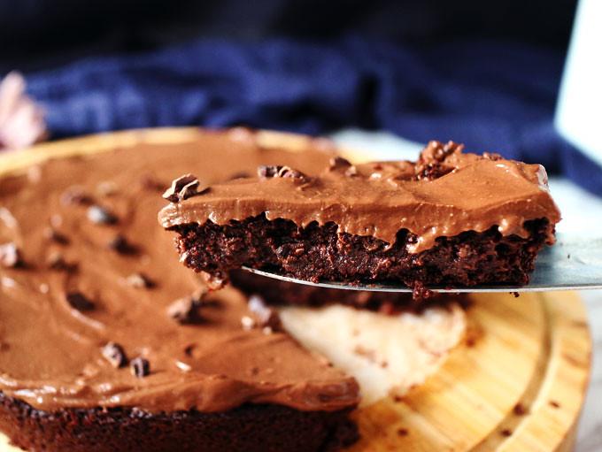 全素無粉藜麥巧克力蛋糕 Vegan Flourless Quinoa Chocolate Cake (6)