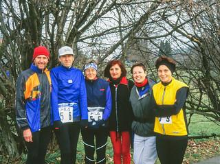Gruppenfoto vor dem Start Arolsen-Marathon