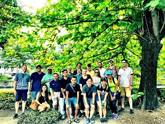 Another great group for our #urbanhike today! #bangkok