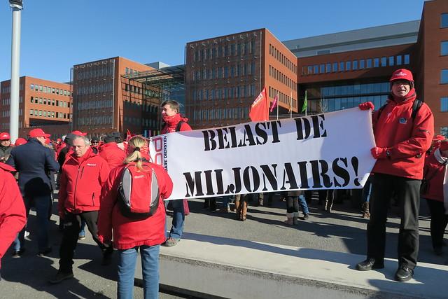 ACOD militantenconcentratie in Brugge // Laurent