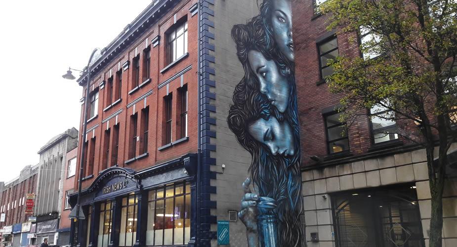 De beste street art in Belfast | Mooistestedentrips.nl
