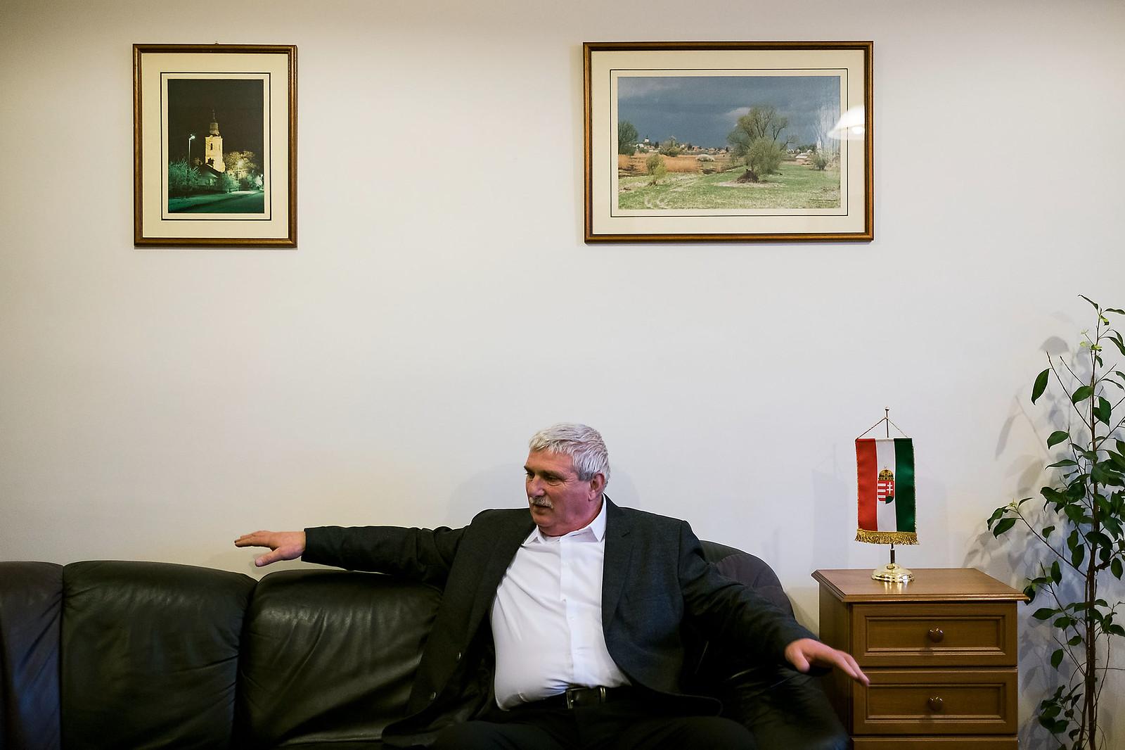 Herdon János, Ópályi polgármestere | Fotó: Magócsi Márton
