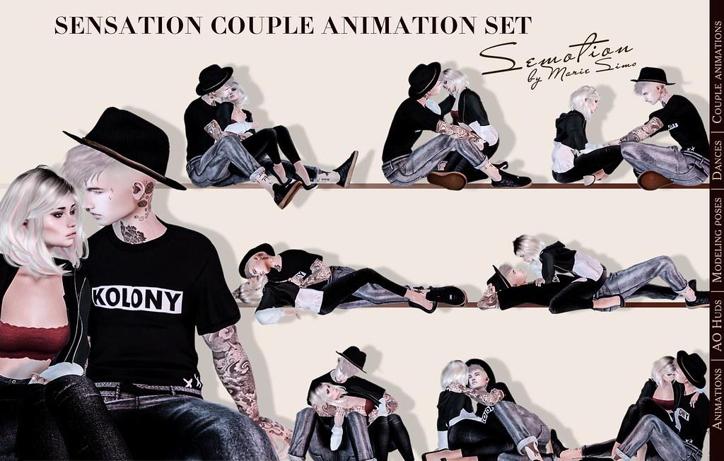 SEmotion Sensation Couple Set - TeleportHub.com Live!