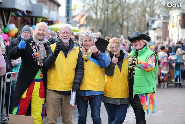 Carnavalsoptocht in Boekelo 2018