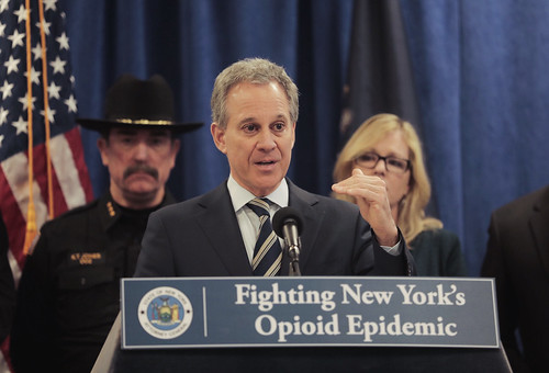 "A.G. Schneiderman Announces Takedown Of Major Hudson Valley Narcotics Distribution Ring In ""Operation Yellow Brick Road"""