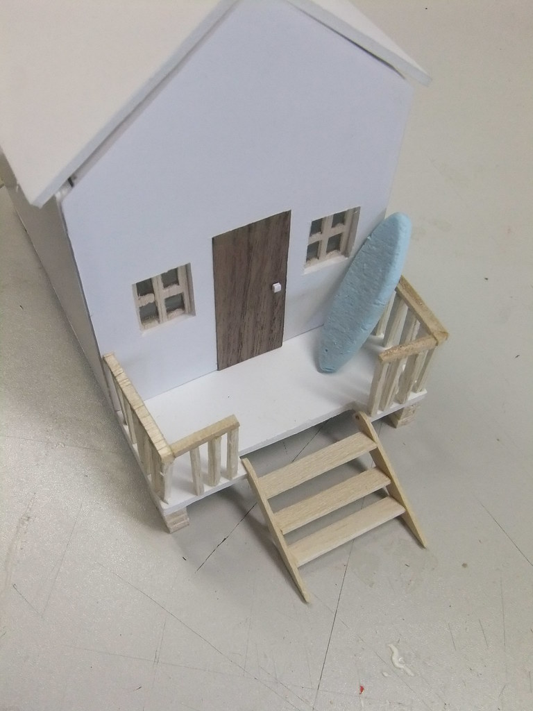 Model Making Beach Hut