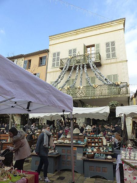 marché de Noël de Valbonne