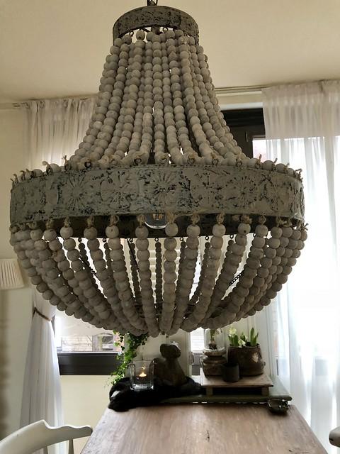 Kralen lamp sober stoer interieur