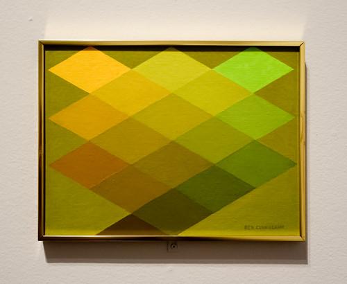 "Ben Cunningham, ""Color Structure II: Jeune, Jaune"" (1969)"