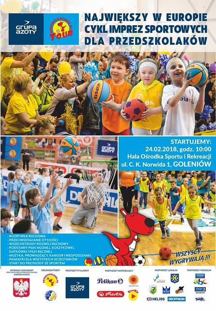 Plakat GAPT 2018 Goleniów