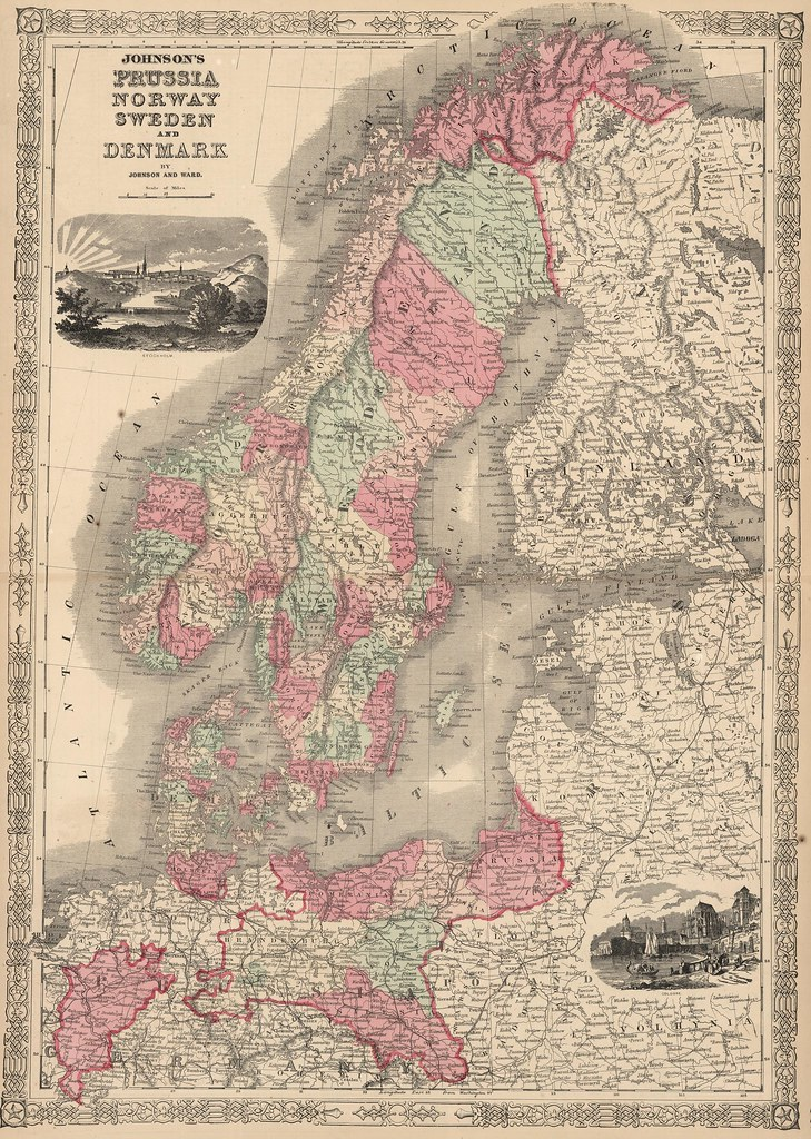 Johnson and Ward - Prussia, Norway, Sweden and Denmark (1864)