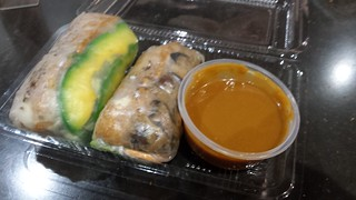 Blurry Rice Paper Rolls from Miss Chi Chi