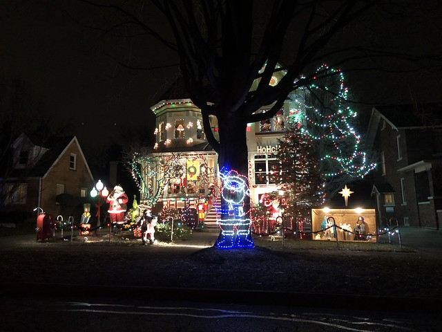 Naperville Christmas Light Tour 2017