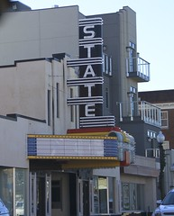 State marquee.