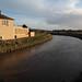 River Adur at Beeding [downstream to the gap & sea]