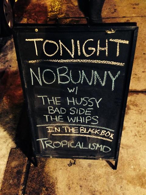 The Bad Side & The Whips & The Hussy & NOBUNNY @ Underground Arts, Philadelphia, PA, 07 February 2014