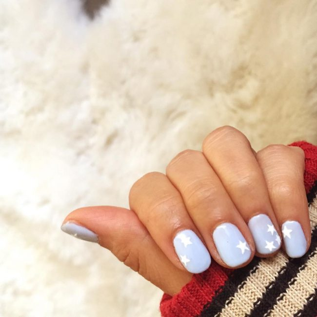 The Most Popular Star Nails Design 2018