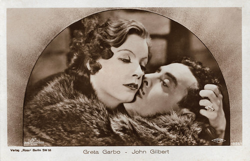Greta Garbo and John Gilbert in Flesh and the Devil (1926)